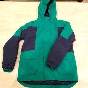 Lands' End Kids Waterproof Hooded Jacket 10/12